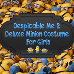 Deluxe Minion Costume For Girls – Cute and Lovable