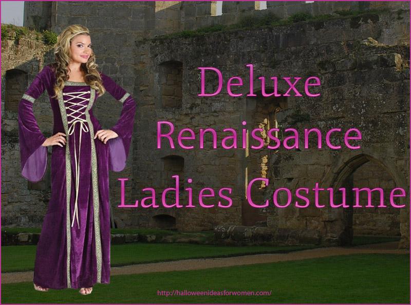 Deluxe Renaissance Lady Costume