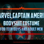 Marvel Captain America Bodysuit for Teen Boys