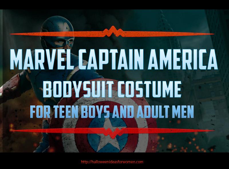 Marvel Captain America Bodysuit costume