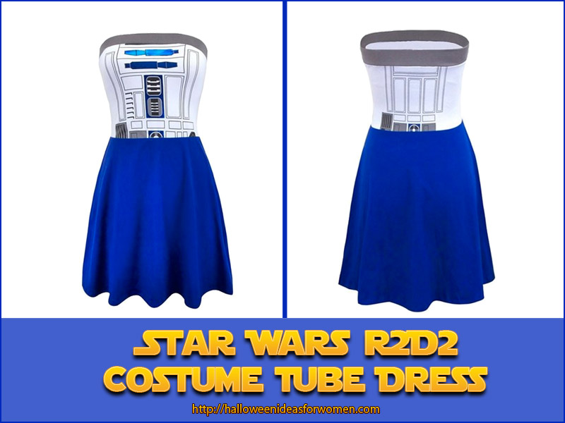 Star Wars Dress-R2D2 Costume Tube Dress