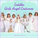 Toddler Girls Angel Costume