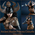 Ancient Warrior Princess Costume