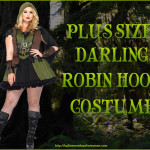 Plus Size Darling Robin Hood Costume  Sassy and Sexy!