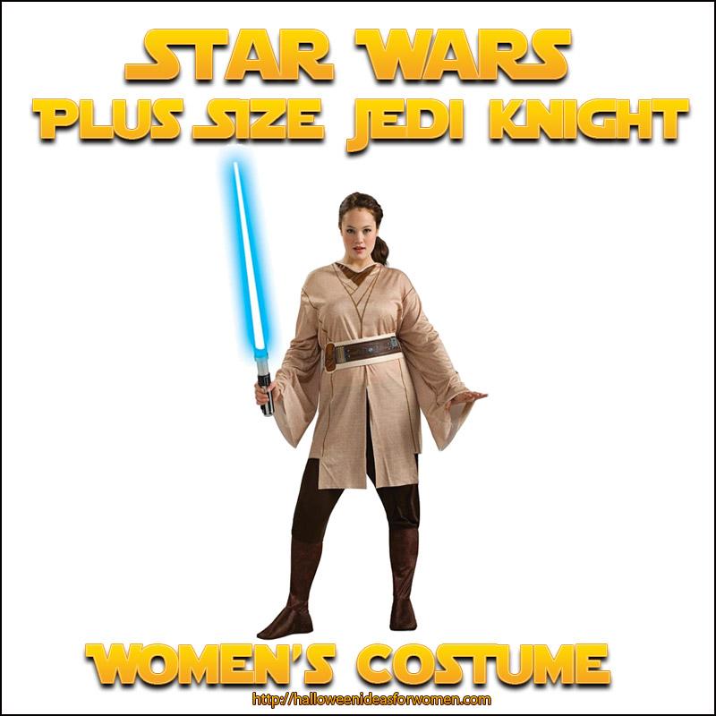 plus size jedi knight womens costume