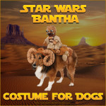 Star Wars Bantha Costume for Dogs