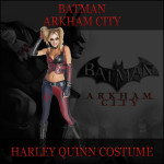 Sexy Batman Arkham City Harley Quinn Costume