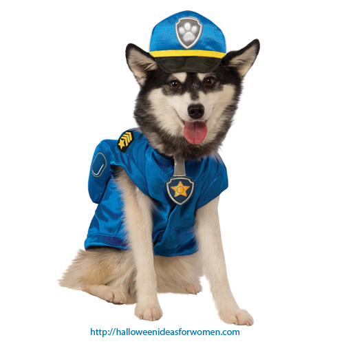 Chase Paw Patrol Costume