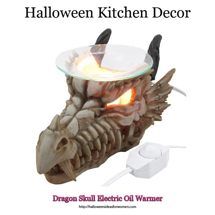 Dragon Skull Electric Oil Warmer