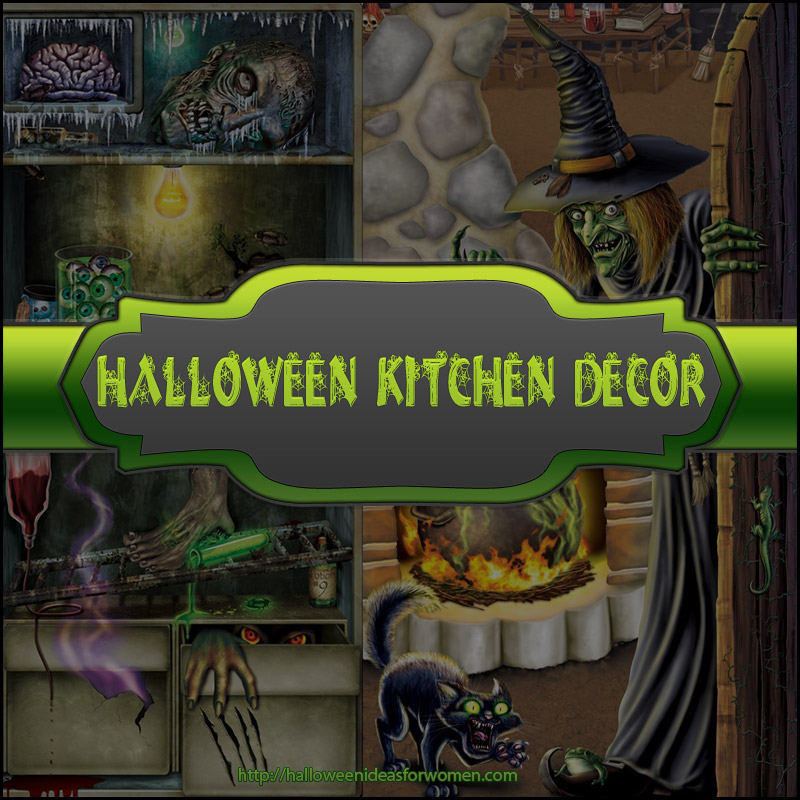 Halloween Kitchen Decor