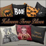 Halloween Throw Pillows – Quick and Easy Decorating Idea