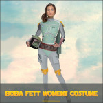 Boba Fett Womens Costume