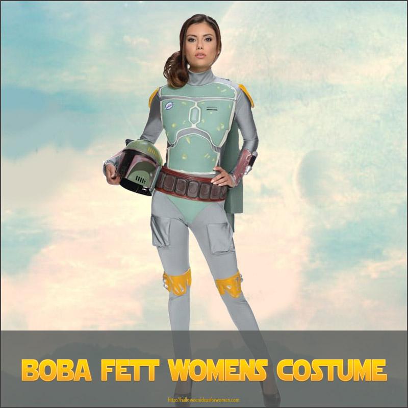 Boba Fett Womens Costume