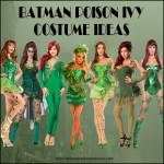 Batman Poison Ivy Costume Ideas for Halloween