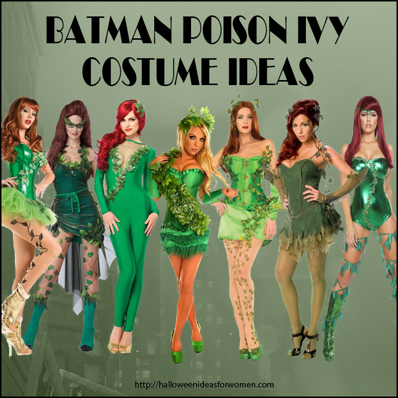Batman Poison Ivy Costume Ideas for Halloween  sc 1 st  Halloween Ideas For Women & Batman poison ivy costume ideas for Halloween or Cosplay