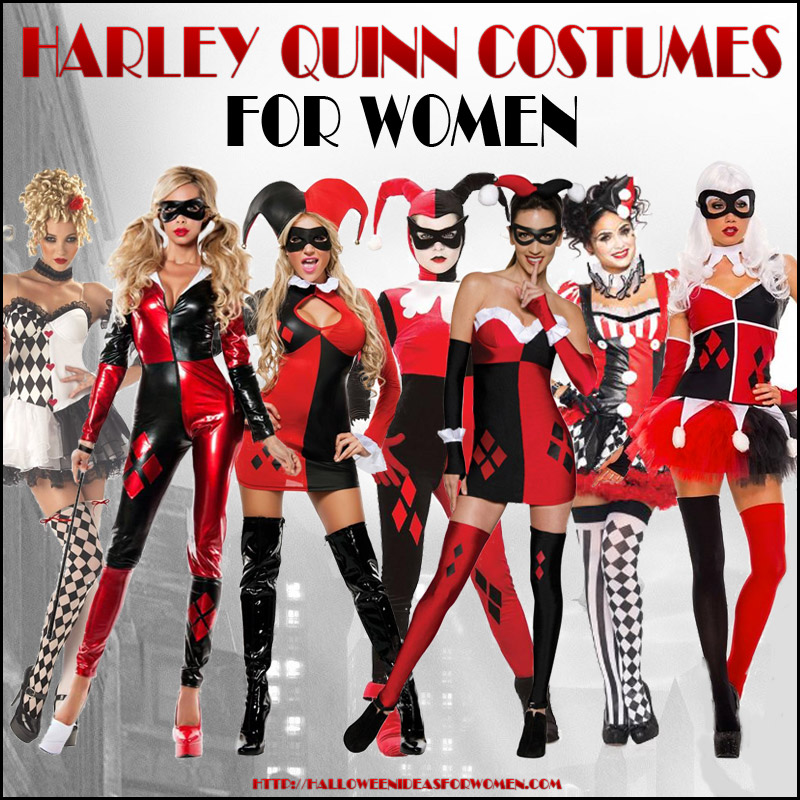 Harley Quinn Halloween Costume for Women Simply Outrageous!