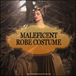 Maleficent Robe Costume for Halloween and Cosplay