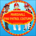 Marshall Paw Patrol Costume That Is Super Cute