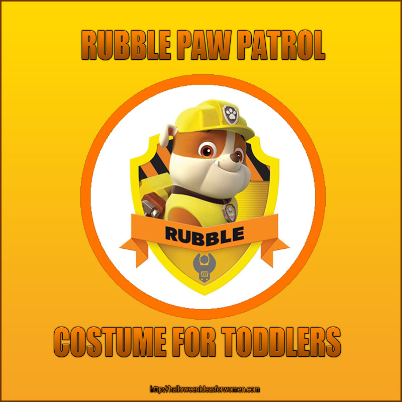 Rubble PAW Patrol Costume