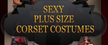 Sexy Plus Size Corset Costumes