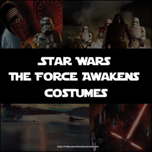 Star Wars The Force Awakens Costumes for 2015 & 2016