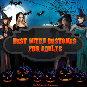 Best Witch Costumes For Adults To Keep Them Spell Bound