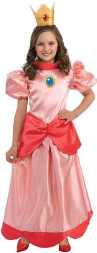 Princess Peach Costume For Kids - Perfect For Battling Goombas!