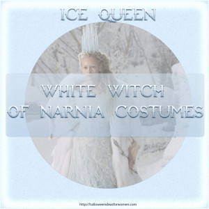 Ice Queen Narnia Costume – White Witch From Chronicles Of Narnia