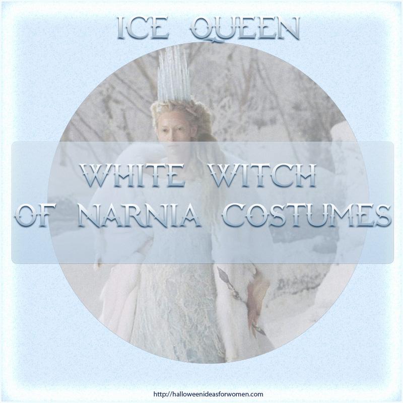 Ice Queen Narnia Costume