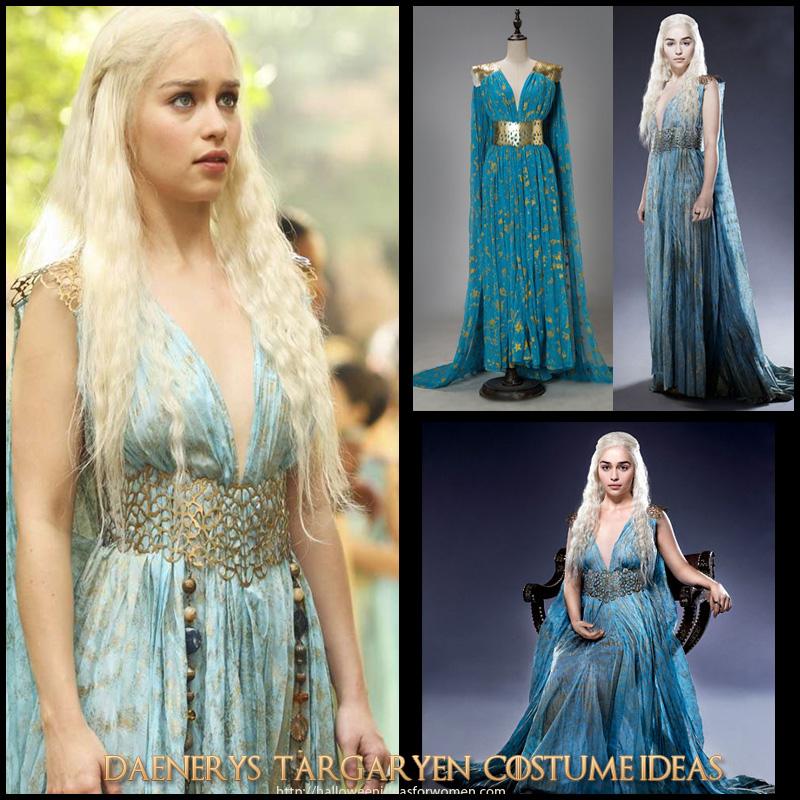 Game Of Thrones Daenerys Targaryen Costume Ideas
