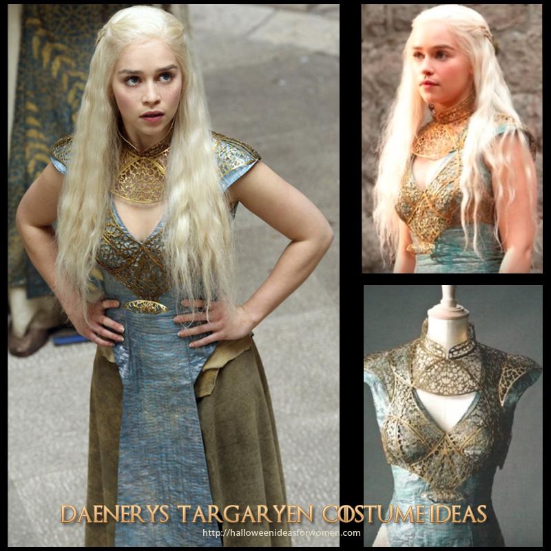 Game of Thrones Daenerys Targaryen Halloween Costumes Ideas