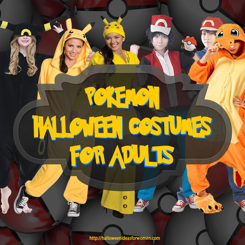 Pokemon Halloween Costumes For Adults | Halloween Ideas For Women