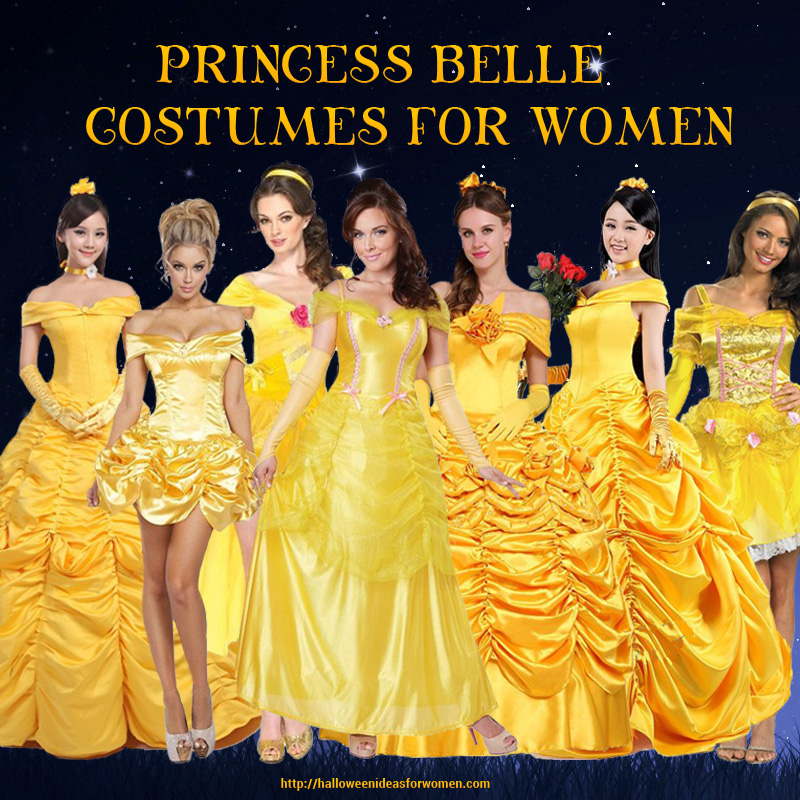 Princess Belle Costumes For Women