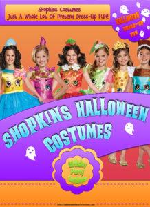 Shopkin Halloween Costumes Simply Adorable