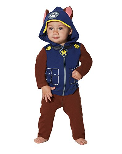 nickelodeon paw patrol chase boys child halloween costume 3 4 3t 4t