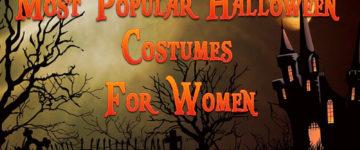 Most Popular Halloween Costumes For Women