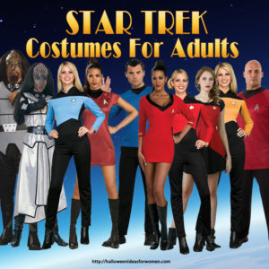 Star Trek Costumes for Adults