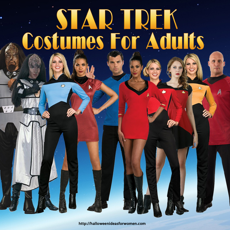 sc 1 st  Halloween Ideas For Women & Star Trek Costumes for Adults | Halloween Ideas For Women