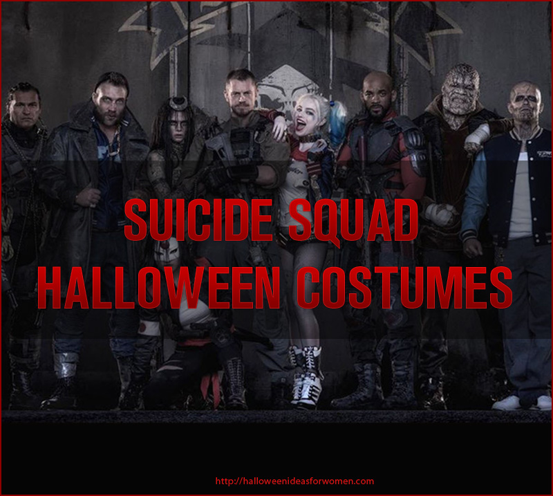 Suicide Squad Halloween Costumes