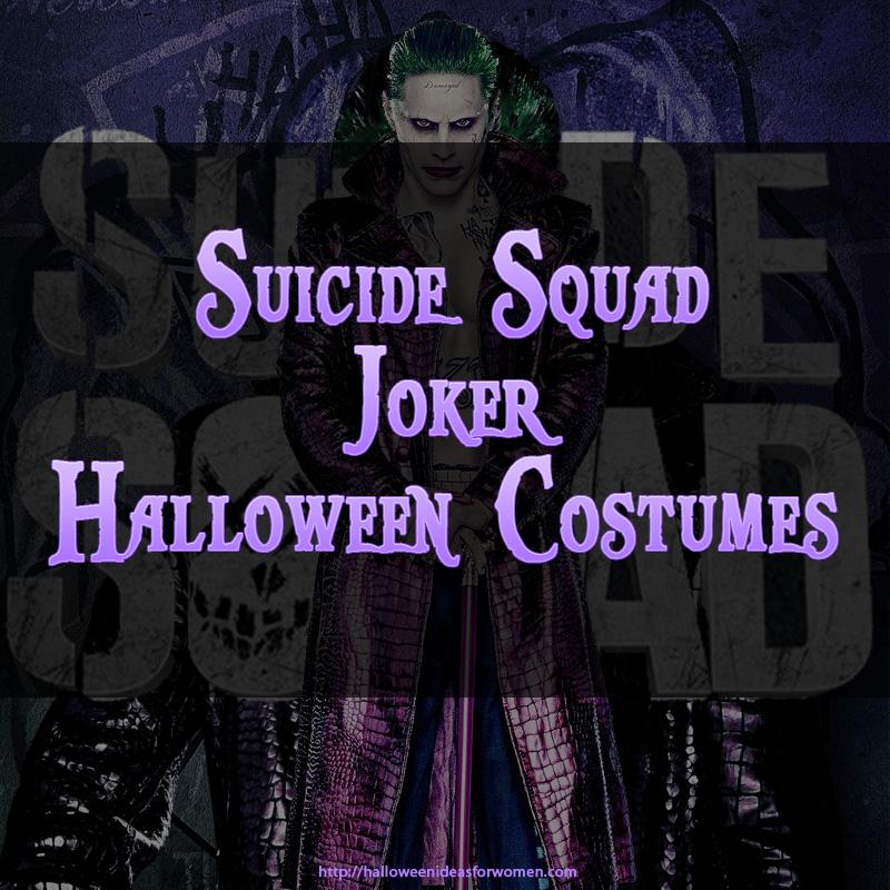 Suicide Squad Joker Halloween Costume