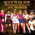 Sexy Plus Size Halloween Costumes Women