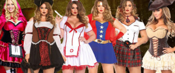 Sexy Plus Size Halloween Costumes Women