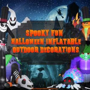 Inflatable Halloween Outdoor Decorations