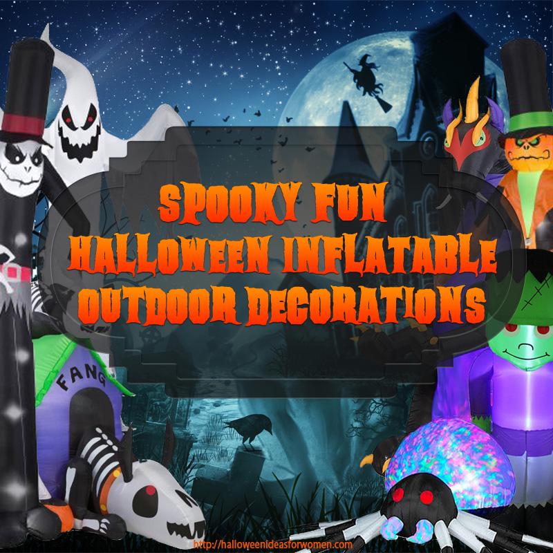 Inflatable Halloween Outdoor Decorations Halloween Ideas For Women