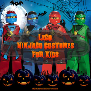 lego ninjago costumes for kids