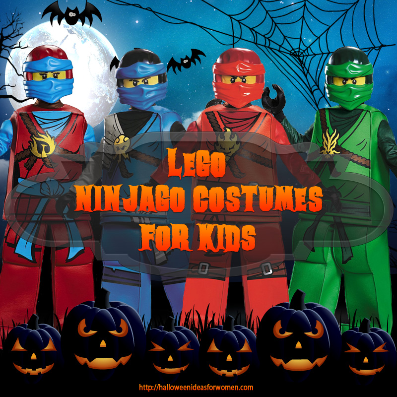 lego ninjago costumes for kids  sc 1 st  Halloween Ideas For Women & Lego Ninjago Costumes For Kids | Halloween Ideas For Women