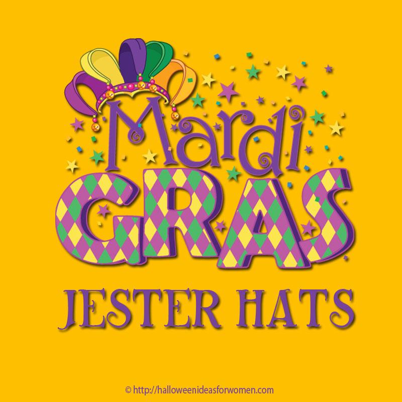 Mardi Gras Jester Hats