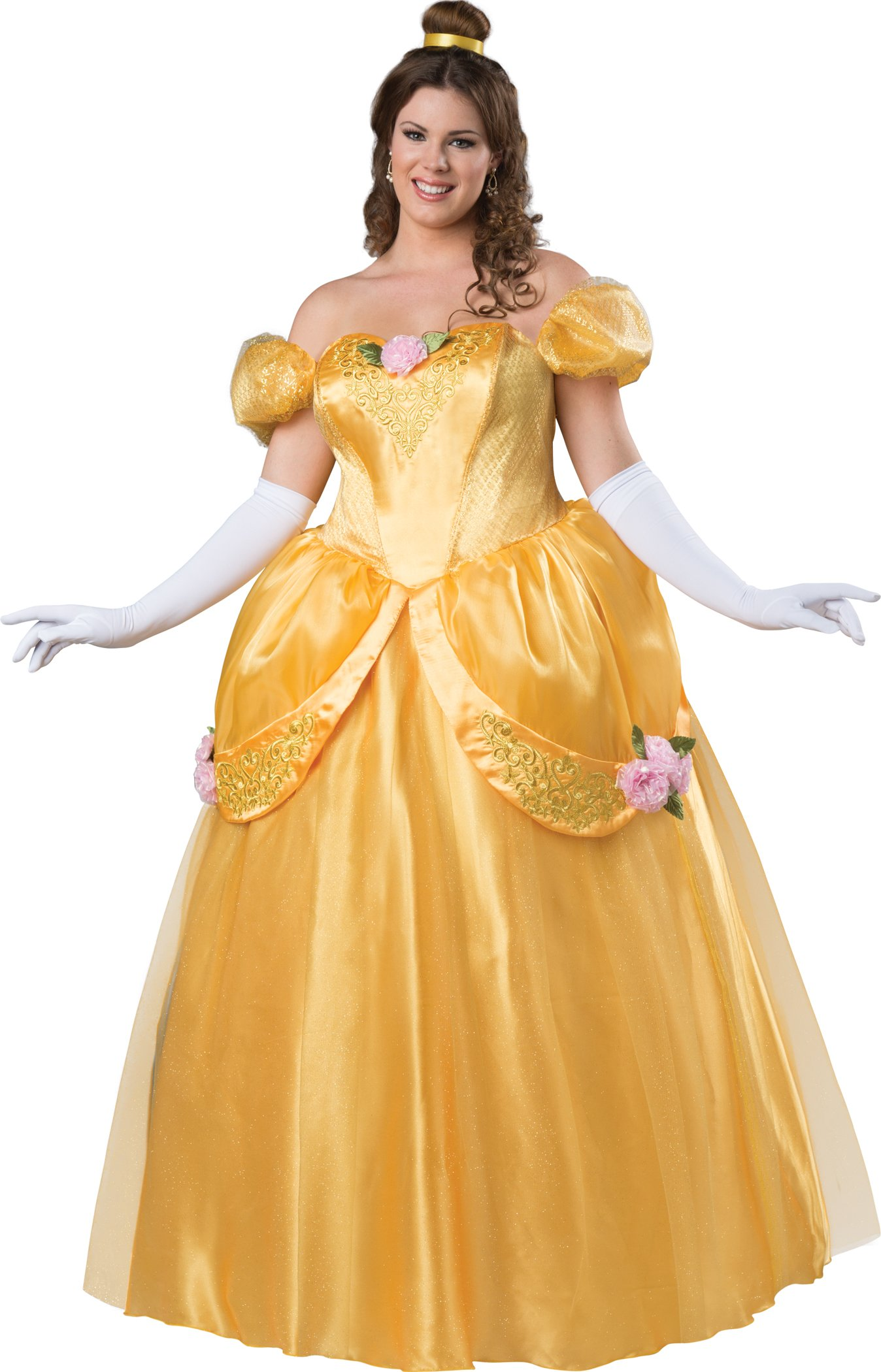 princess belle plus size costume halloween ideas for women. Black Bedroom Furniture Sets. Home Design Ideas