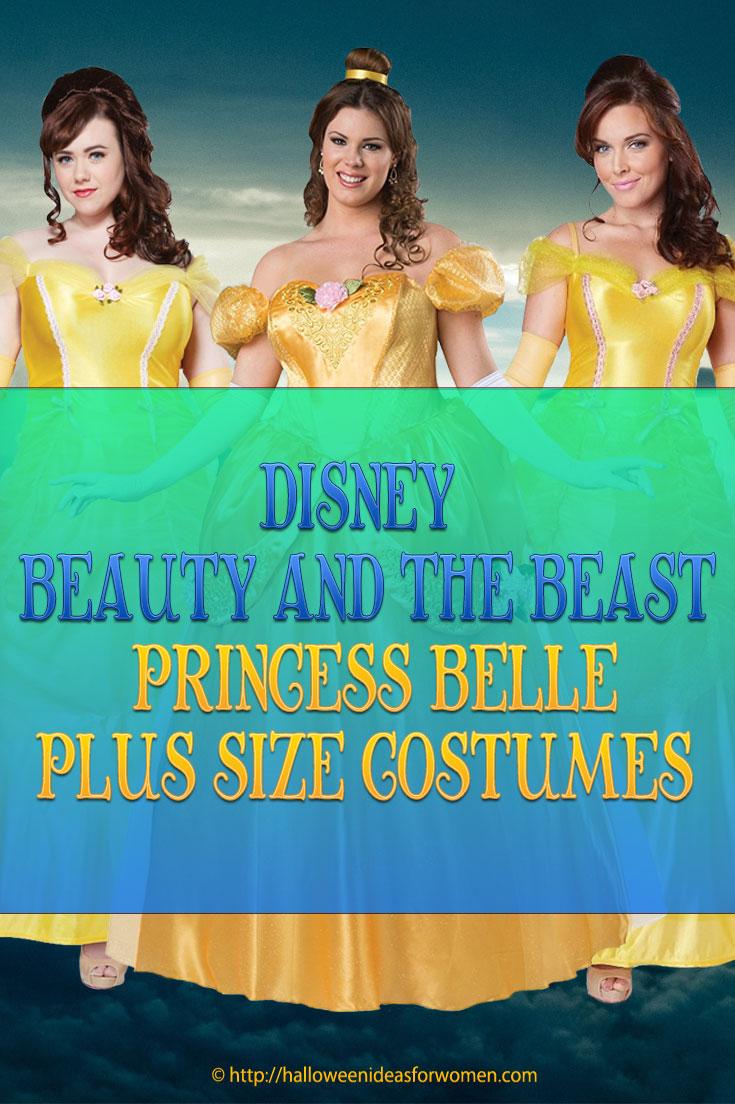 Princess Belle Plus Size Costume