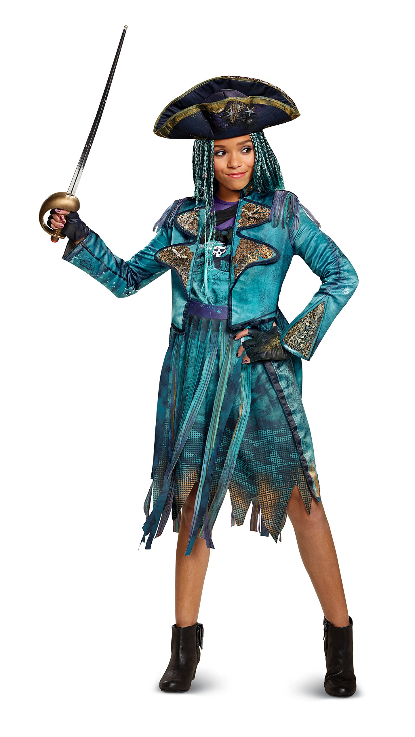 Disney descendants 2 costumes halloween ideas for women in the words of uma herself you can stick a tiara on a villain but shes still a villian solutioingenieria Images